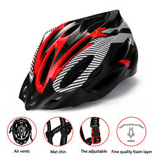 Casco Bici Ciclismo Regolabile Bike MTB Corsa Strada Mountain Bicicletta IT K0A3