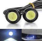 2* 12V 9W Voiture Moto LED Jour Diurne Lampe Feux Blanc Brouillard lumière