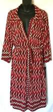 Mlle Gabrielle Dress Women's Plus Size 3X New Red 1349