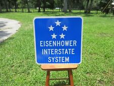 Eisenhower Interstate System Road Sign New Great for Man Cave, Bar
