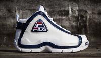 Fila men's 96 grant hill white/navy shoes