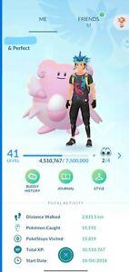 Pokemon Go LV 41 ✨300+ Shinies!✨130+ 100iv✨4 Shundo