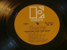 DOORS~WAITING FOR THE SUN~ GOLD LABEL~ RECORD VG+ ~ ~ ROCK  LP