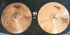 "Paiste 3000 Sound Edge Hi-Hat 14"" Top & Bottom Cymbals"