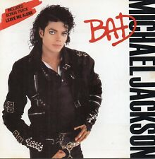 Michael Jackson - Bad  (CD 1987) Original Issue CD