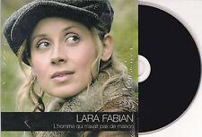 CD CARTONNE CARDSLEEVE LARA FABIAN L'HOMME QUI N'AVAIT PAS DE MAISON + 1 VIDEO