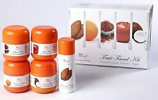 Nature's Essence Fruit Facial Kit Gives Skin Glowing Bleach Effect - 200g + 40ml