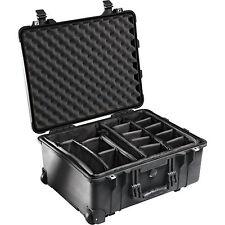 PELI CASE 1560 MIT EINTEILUNGSSYSTEM / SCHWARZ oder SAND