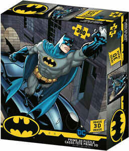 Batmobile 3D Jigsaw Puzzle DC Comics 24 Inch by 18 Inch 300 Piece NEW