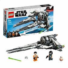 LEGO Star Wars Black Ace TIE Interceptor Starfighter 75242