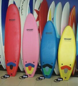 "SOFTBOARD 5'4"" PRIME SPLASH SOFT SURFBOARDS NOVICE EPS CLOSED CELL CHILDREN"