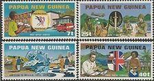 Papua New Guinea 1980 UPU (4) Unh Mint SG 380-3 (FU/CTO available at same price)
