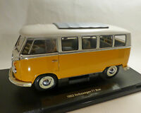 VW T1-Bus, 1963, gelb 1:18, WELLY