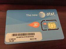 New At&T Prepaid Go Phone 3G / Hotspot Sim Card Oem Dell Mf324