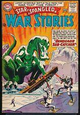 STAR SPANGLED WAR STORIES No. 112 1964 DC Comic Book DINOSAUR Cover 6.5 FN+