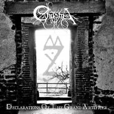 Chasma - Declarations of the Grand Artificer CD 2011 black metal Moribund