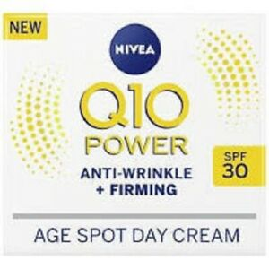 NIVEA Q10 Power Anti-Wrinkle + Firming Age Spot Day Cream SPF30  BRAND NEW BOXED