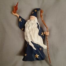 """PAPO Great Blue Wizard """"Merlin the Magician"""" PAPO (1999) ELC Fantasy Figure MINT"""