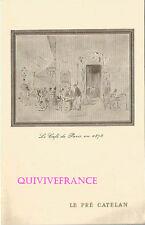 MN254 - MENU 1964 LE PRÉ CATELAN PARIS