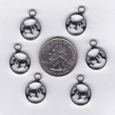 You Get 33 Metal Silver Tone Scottish Terrier Dog Charms, C37 - U.S. Seller.