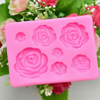 Rose Flower Silicone Mold Fondant Mold Cake Decorating Tools Chocolate Mold