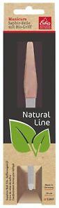 Natural Line Sapphire Nail File Biogriff 0% Plastic Erbe Soligen Becker-Manicure