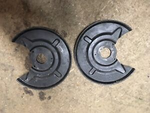Vw Baywindow T2 Bay 72 Only  Front Brake Backing Plates