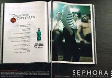PUBLICITE ADVERTISING 015  2009  JEAN-PAUL GAULTIER   parfum LE MALE ( 2p)