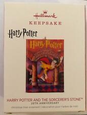 Hallmark Harry Potter Sorcerer's Stone Book Cover Ornament 2018 Keepsake 20th