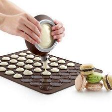 Silicone Macaron Set Pastry Baking Sheet Decorating Cake Cookie Non-Stick Kit
