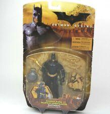 "Mattel Batman Begins 6 "" figurine Rapid Fire Super Disparos Moc Nip"