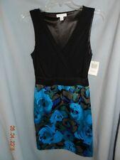 Sexy Black & Blue Dress by New York & Company Stretch size S Small