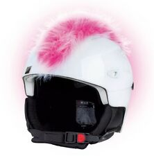 Cherokee Irokese für Skihelm Helm Helmet Irokesen Pink Rosa Helmschmuck Radhelm