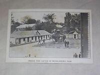 VINTAGE 1912 GREAT ADDISON COUNTY FAIR VERMONT MIDDLEBURY FAIR GATES   POSTCARD