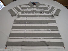 Men's Tommy Hilfiger Polo shirt stripe 7845158 Grey Heather 004 XXL slim ft pckt