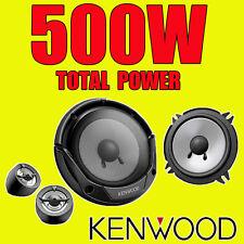 KENWOOD Alimentatore da 500 W TOTAL 2Way 5.25 Pollici 13cm auto porta 2Way componente ALTOPARLANTI TWEETER