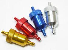 CNC Aluminum Fuel Gas Filter Honda CRF XR 50 70 80 100 Pit Dirt Bike ATV 125cc