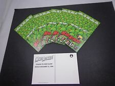 * Mars Attacks -Movie studio -Fan Club Cards-6 pcs.-7 x 5""