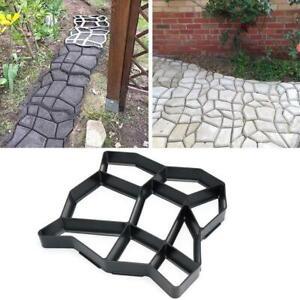 36CM DIY Path Mold Maker Plastic Paving Model Concrete Stepping Driveway Stone