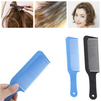 1 Pc Carbon Antistatic 3D Hairdressing Clipper Comb Anti Slide Handle Barber