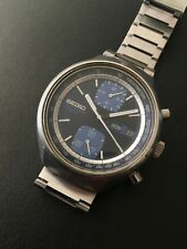 VINTAGE SEIKO CHRONOGRAPH AUTOMATIC 6138-8030 JOHN PLAYER WATCH