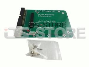 "Laptop 44pin 2.5"" Laptop IDE HDD to Desktop 40pin 3.5"" Adapter Card PCB SSD Hard"
