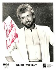 Keith Whitley signed 8X10 picture autograph RP