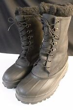 Lacrosse Iceman Boots Steel Shank Black Winter Snow Hunting Size 8 Excellent