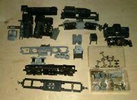 Vintage HO Train Parts Steam Engine Parts Locomotive Brass Metal Antiques Lot
