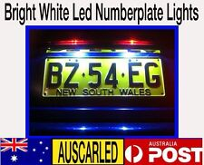 Nissan D22 navara 2x 1156 ULTRA WHITE LED SMD Number Plate Lights for