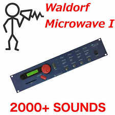 2000+ Waldorf Microwave I Sound Largest Library - Program Patch SysEx - D0wnload