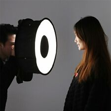 Flash Diffuser Foldable Speedlight Annular Photography Prossional Softbox 45CM