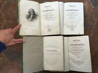 [PEUCHET Jacques] MIRABEAU Mémoires des contemporains 4/4 Bossange 1824