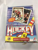 1991-92 Topps O-Pee-Chee Hockey Wax box NEW PLUS 4 FREE VINTAGE CARDS